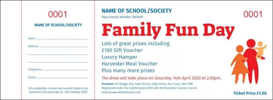 Fundraising Raffle Tickets - Raffle Ticket Printers - Draw Tickets